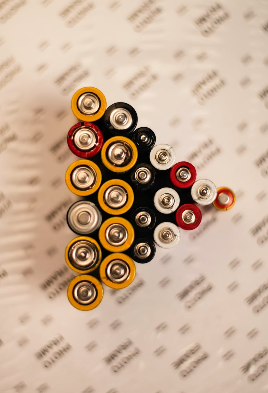 batteries lot
