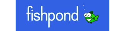 This image has an empty alt attribute; its file name is fishpond-400x100-white.jpg