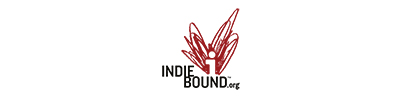 This image has an empty alt attribute; its file name is indiebound-400x100-white.jpg